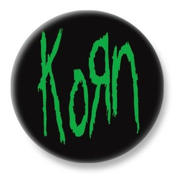 duży kapsel KORN - GREEN LOGO