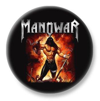 duży kapsel MANOWAR - FIRE AND BLOOD