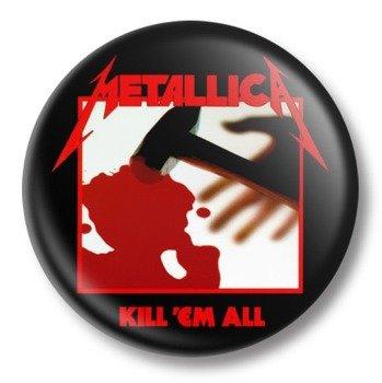 duży kapsel METALLICA - KILL 'EM ALL