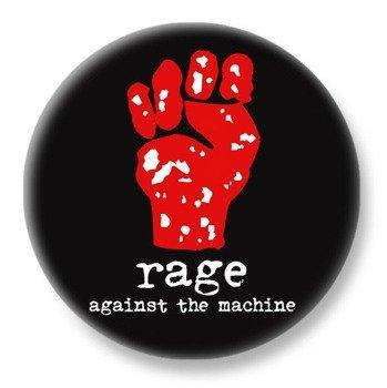 duży kapsel RAGE AGAINST THE MACHINE