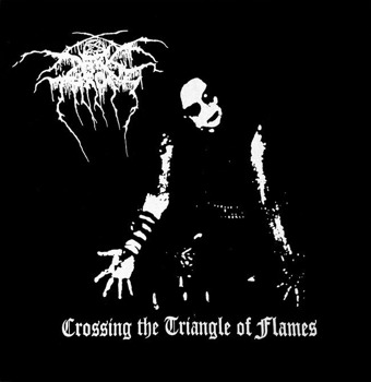 ekran DARKTHRONE - CROSSING THE TRIANGLE OF FLAMES