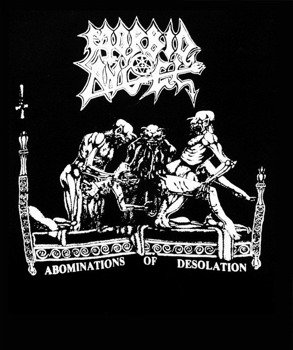 ekran MORBID ANGEL - ABOMINATIONS OF DESOLATION