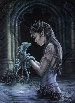 flaga ANNE STOKES - WATER DRAGON