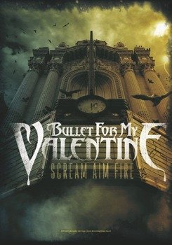flaga BULLET FOR MY VALENTINE - SCREAM AIM FIRE