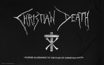 flaga CHRISTIAN DEATH - I PLEDGE ALLEGIANCE