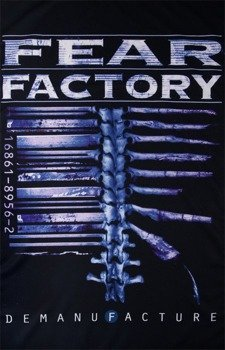 flaga FEAR FACTORY - DEMANUFACTURE