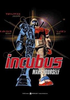 "flaga INCUBUS ""MAKE YOURSELF"""