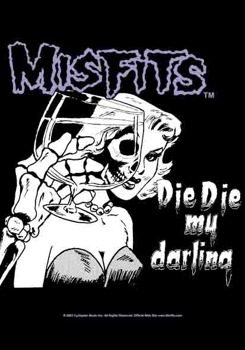 flaga MISFITS  - DIE DIE MY DARLING