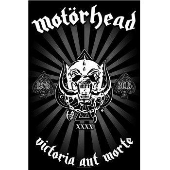 flaga MOTORHEAD - VICTORIA AUT MORTE 1975-2015