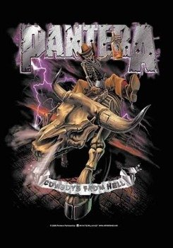 flaga PANTERA - COWBOYS FROM HELL