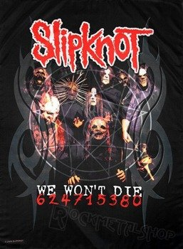 flaga SLIPKNOT - WE WON'T DIE