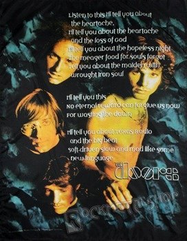 flaga THE DOORS - POEM