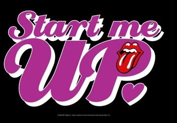 flaga THE ROLLING STONES
