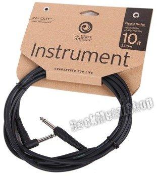kabel gitarowy 3,05m PLANET WAVES CLASSIC jack prosty/kąt (PW-CGTRA-10)