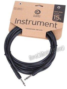 kabel gitarowy 4,57m PLANET WAVES CLASSIC jack prosty/prosty (PW-CGT-15)
