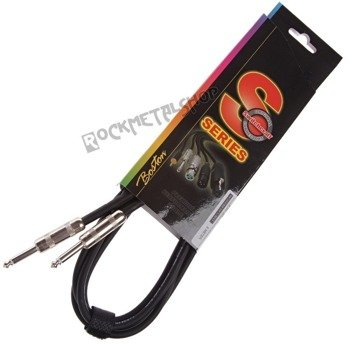 kabel gitarowy BOSTON S-SERIES jack SWITCHCRAFT prosty/prosty 3m