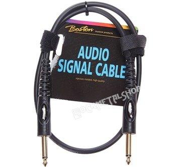 kabel instrumentalny BOSTON 0,75m jack prosty/prosty