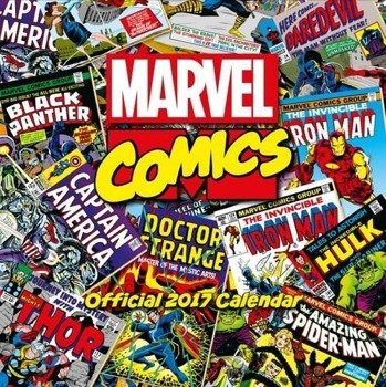 kalendarz MARVEL COMICS 2017