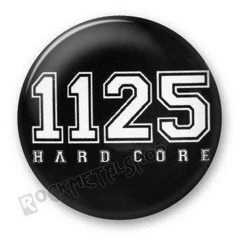 kapsel 1125 - HARD CORE white