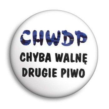 kapsel CHWDP - CHYBA WALNĘ DRUGIE PIWO Ø25mm