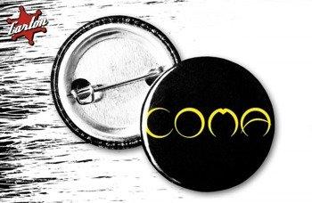 kapsel COMA - LOGO czarno-żółty