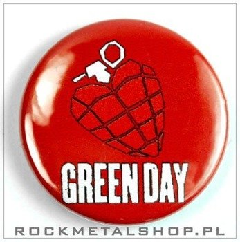 kapsel GREEN DAY - HEART GRENADE średni