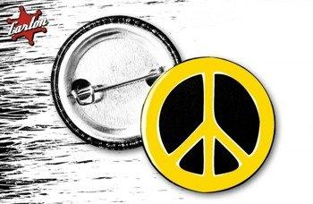 kapsel INDIOS BRAVOS - PEACE yellow