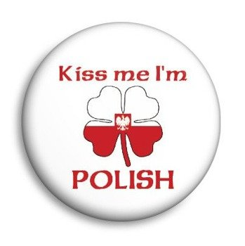 kapsel KISS ME I'M POLISH Ø25mm