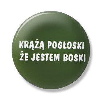 kapsel KRĄŻĄ POGŁOSKI, ŻE... Ø25mm