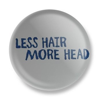 kapsel LESS HAIR MORE HEAD Ø25mm