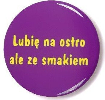 kapsel LUBIĘ NA OSTRO, ALE ZE SMAKIEM Ø25mm