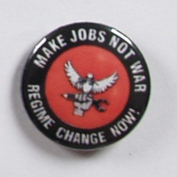 kapsel MAKE JOBS NOT WAR