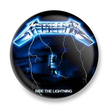 kapsel METALLICA - RIDE THE LIGHTNING