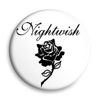 kapsel NIGHTWISH - BLACK ROSE biały