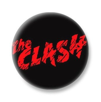 kapsel THE CLASH - RED LOGO