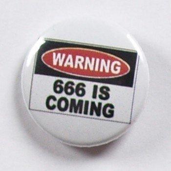 kapsel WARNING 666 IS COMING