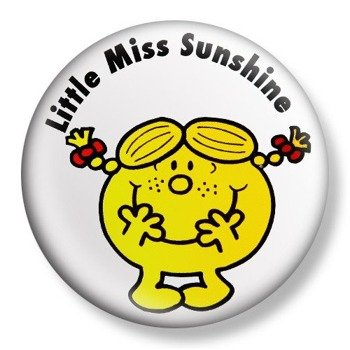 kapsel średni LITTLE MISS SUNSHINE Ø38mm