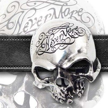 klamra do pasa NEVERMORE SKULL