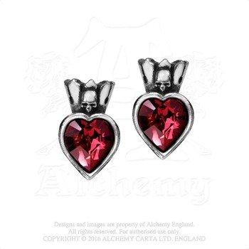 kolczyki CLADDAGH HEART (PARA)