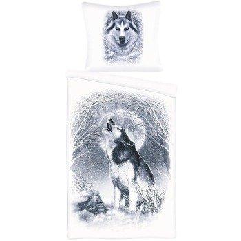 komplet pościelowy SPIRAL - WHITE WOLF