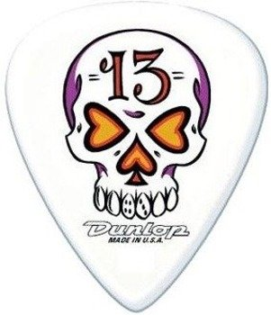 kostka gitarowa DUNLOP - BLACKLINE SERIES / SKULL 13 (BL02)