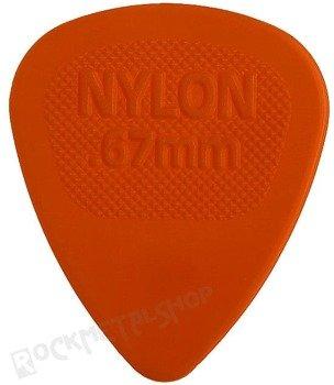 kostka gitarowa DUNLOP - NYLON MIDI 0.67mm