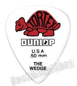 kostka gitarowa DUNLOP - TORTEX THE WEDGE RED 0.50 mm (424R0.50)