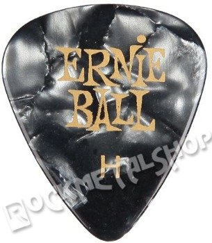 kostka gitarowa ERNIE BALL PEARLOID grey