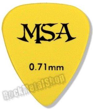 kostka gitarowa MSA YELLOW