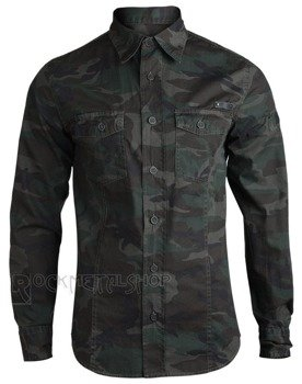 koszula MEN SHIRT SLIM - WOODLAND