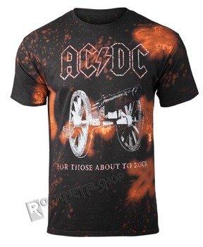 koszulka AC/DC - ABOUT TO ROCK, barwiona