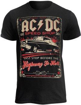 koszulka AC/DC - AC-DC SPEEDSHOP