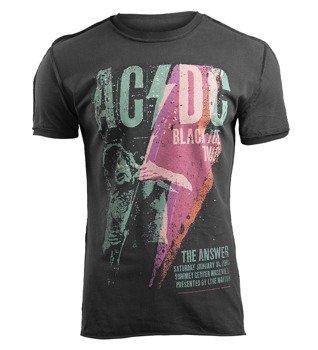 koszulka AC/DC - BLACK ICE TOUR szara