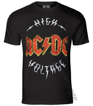 koszulka AC/DC - HIGH VOLTAGE